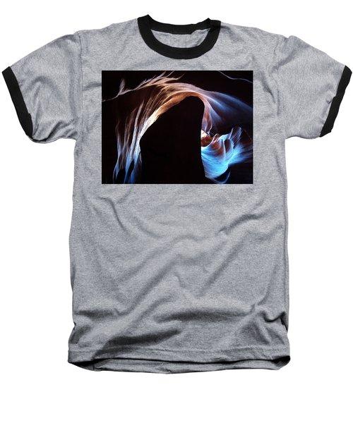 Baseball T-Shirt featuring the photograph Antelope Canyon 09 by Jeff Brunton