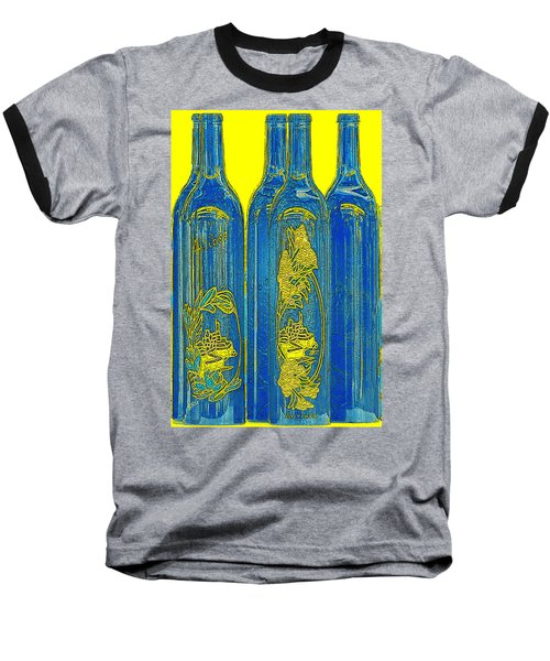 Antibes Blue Bottles Baseball T-Shirt