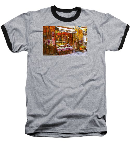 Antica Bottega Toscana Baseball T-Shirt