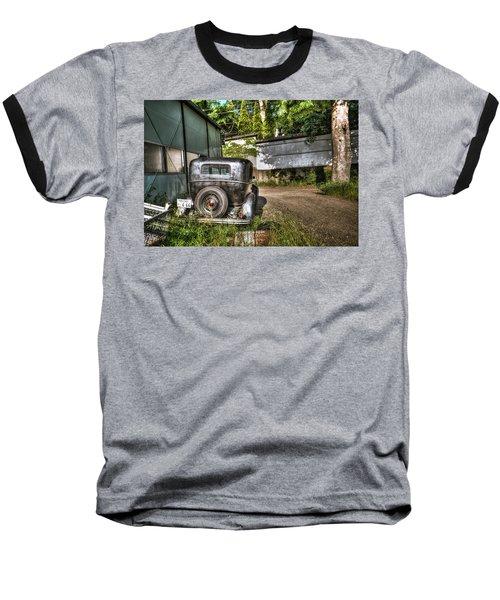 Antichrist Model T Baseball T-Shirt by John Swartz