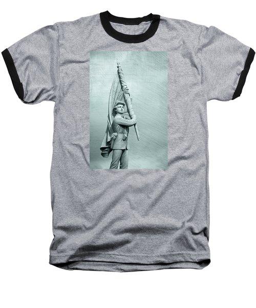 Antietam Civil War Monument Baseball T-Shirt by Phil Cardamone
