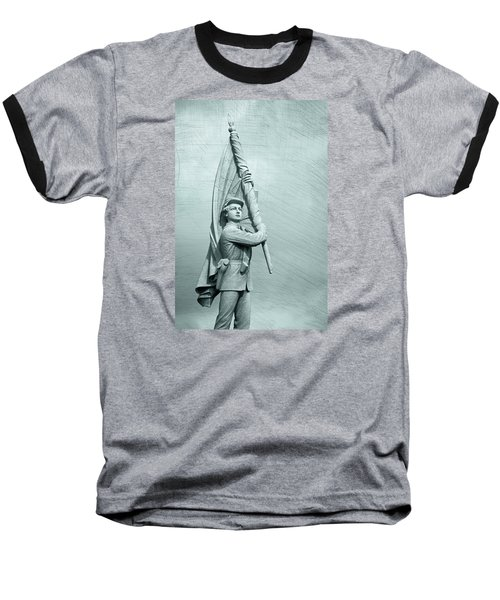 Antietam Civil War Monument Baseball T-Shirt
