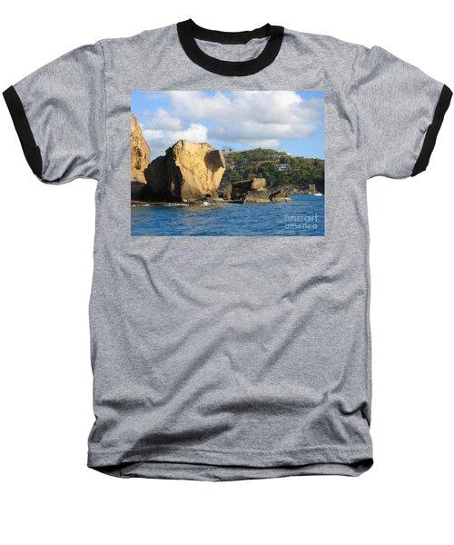 Antigua - Aliens Baseball T-Shirt by HEVi FineArt