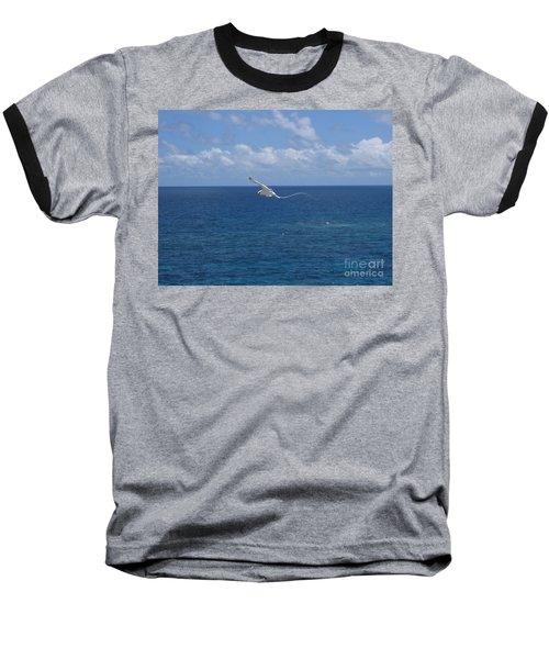 Antigua - In Flight Baseball T-Shirt by HEVi FineArt