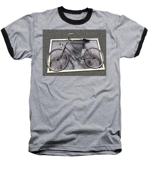 Antique Bicycle  Baseball T-Shirt by Joyce  Wasser