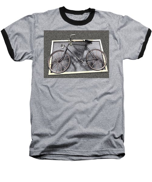 Antique Bicycle  Baseball T-Shirt