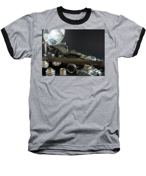 Antique Cameras Baseball T-Shirt