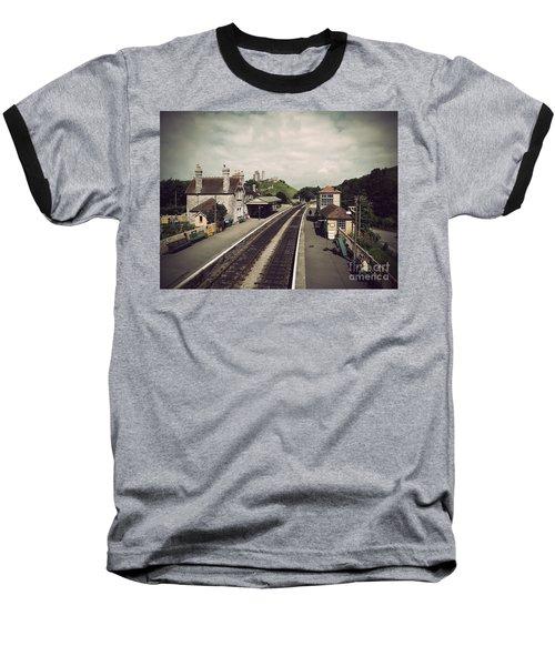 Antique Corfe Castle Baseball T-Shirt