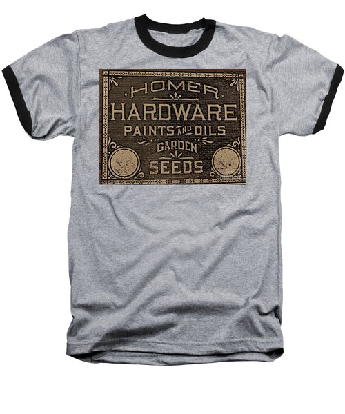 Antique Homer Hardware Baseball T-Shirt
