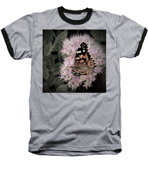 Baseball T-Shirt featuring the photograph Antique Monarch by Photographic Arts And Design Studio