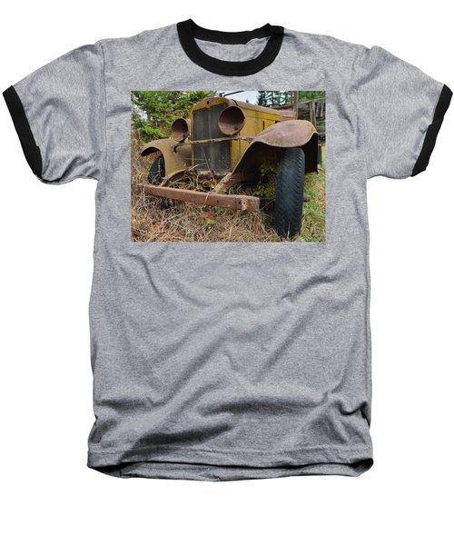 Antique Pickup Truck Baseball T-Shirt