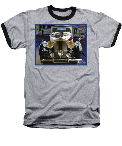 Antique Rolls Royce Baseball T-Shirt