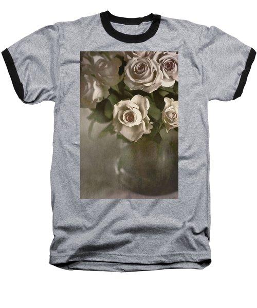 Antique Roses Baseball T-Shirt