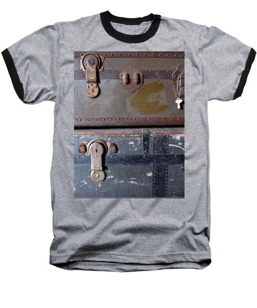 Antique Trunks 5 Baseball T-Shirt