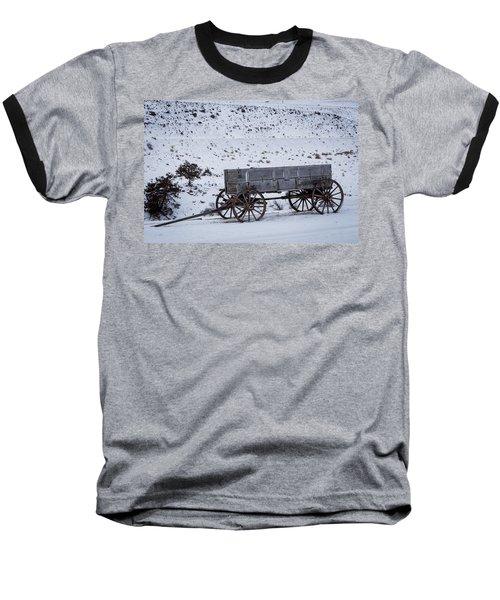 Antique Wagon Baseball T-Shirt