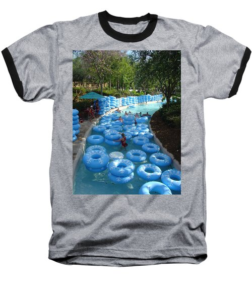 Baseball T-Shirt featuring the photograph Any Spare Tubes by David Nicholls