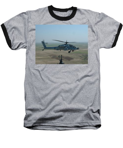 Apache Gray Baseball T-Shirt