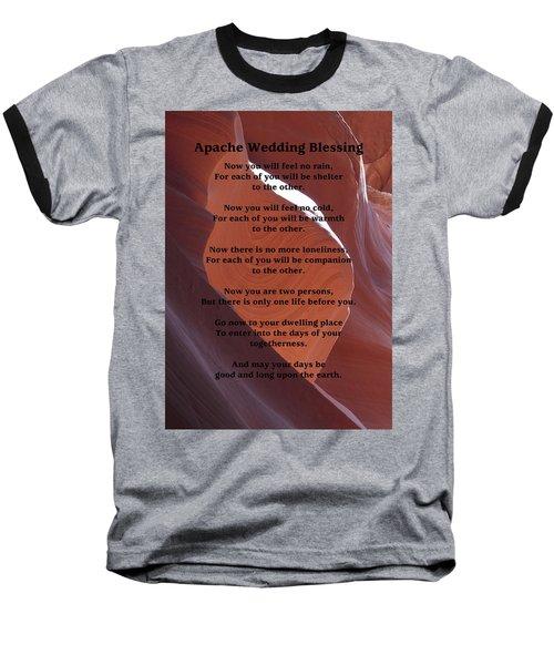 Apache Wedding Blessing On Canyon Photo Baseball T-Shirt