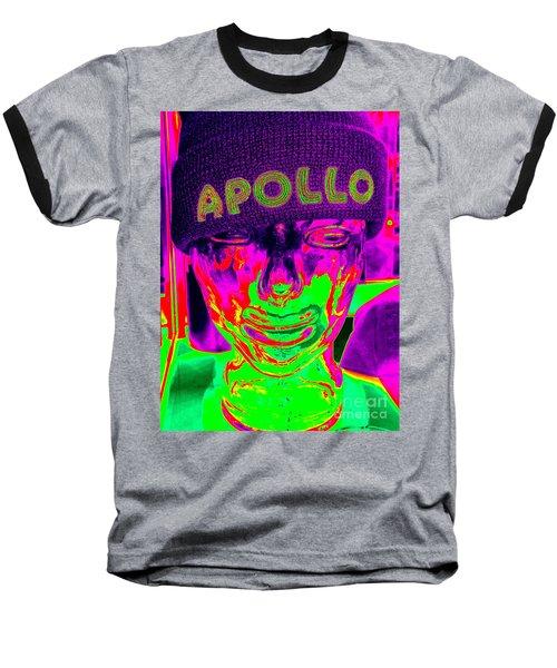 Apollo Abstract Baseball T-Shirt by Ed Weidman