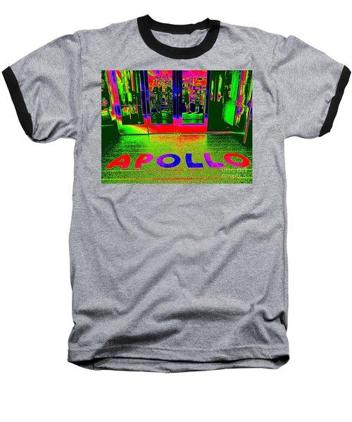 Apollo Pop Baseball T-Shirt by Ed Weidman