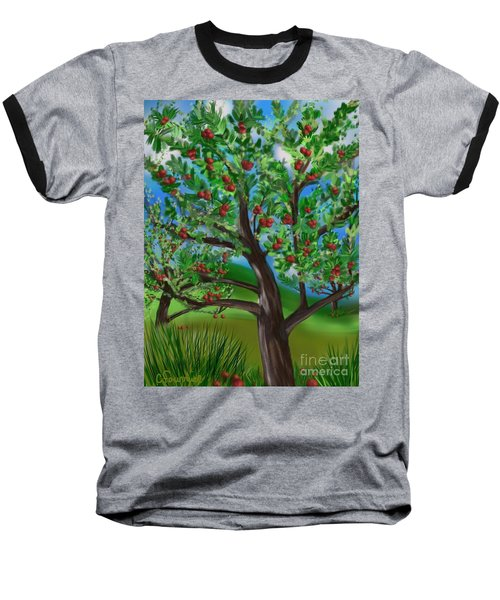 Apple Acres Baseball T-Shirt