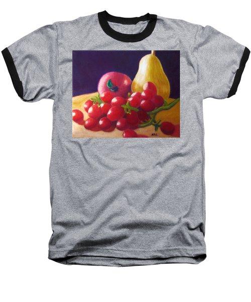 Apple Pear Grapes Baseball T-Shirt