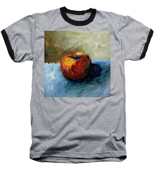 Apple With Olive And Grey Baseball T-Shirt