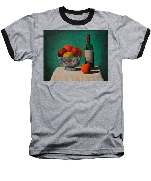 Apples And Wine Baseball T-Shirt