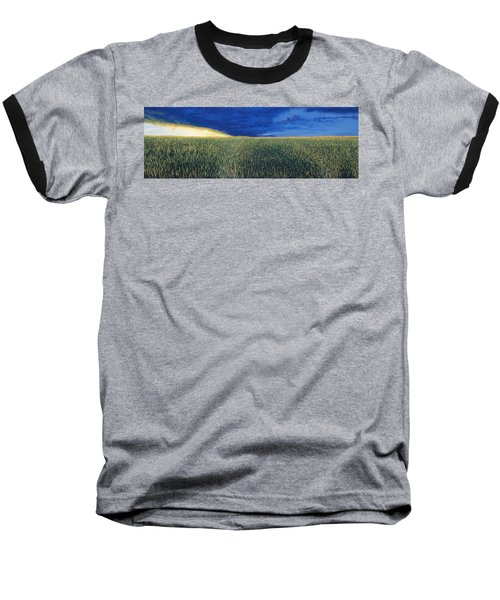 Approaching Storm Baseball T-Shirt
