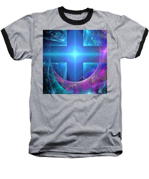 Approaching The Portal Baseball T-Shirt