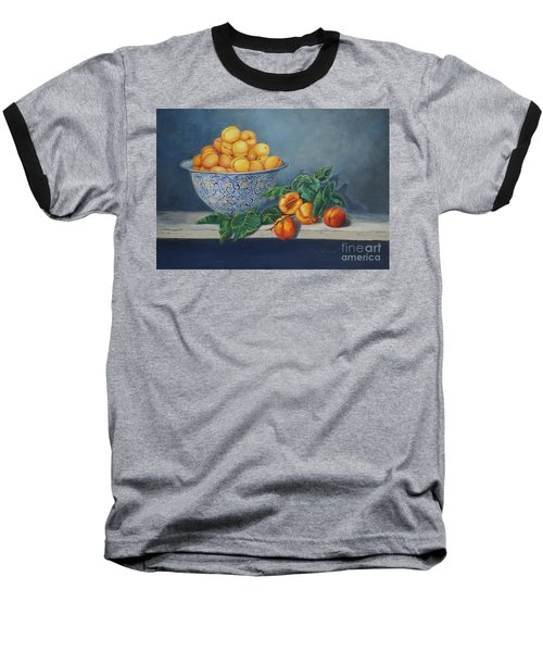 Apricots And Peaches Baseball T-Shirt