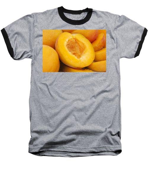 Apricots Baseball T-Shirt