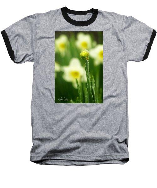 April Showers Baseball T-Shirt by Joan Davis