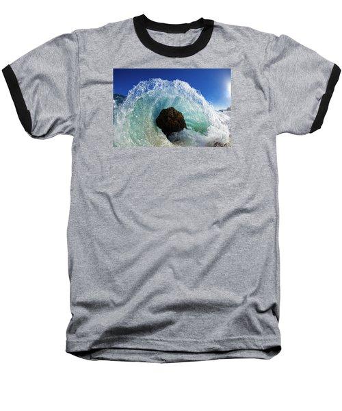 Aqua Dome Baseball T-Shirt