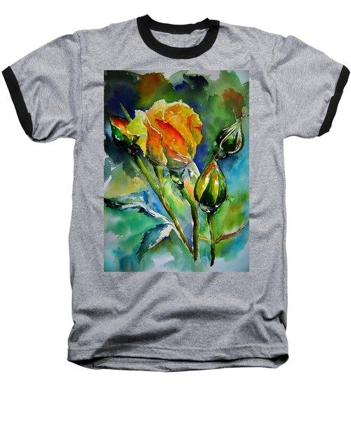 Aquarelle Baseball T-Shirt