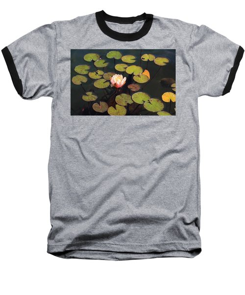 Aquatic Garden With Water Lily Baseball T-Shirt