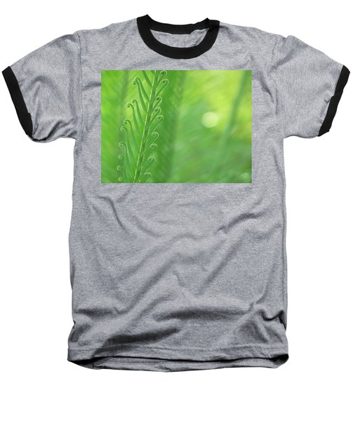 Arabesque Baseball T-Shirt by Evelyn Tambour