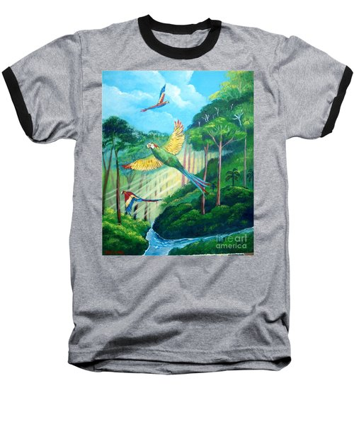 Aras On The Forest Baseball T-Shirt