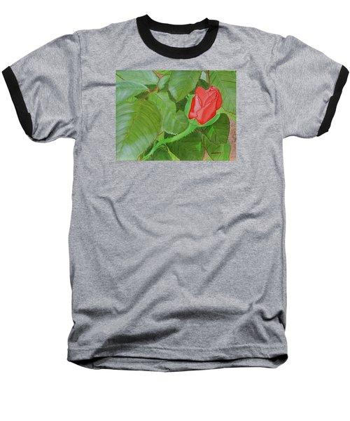 Arboretum Rose Baseball T-Shirt