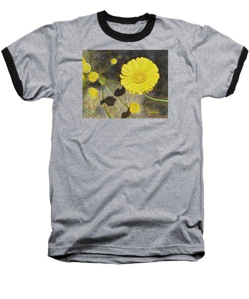 Arboretum Wild Flower  Baseball T-Shirt