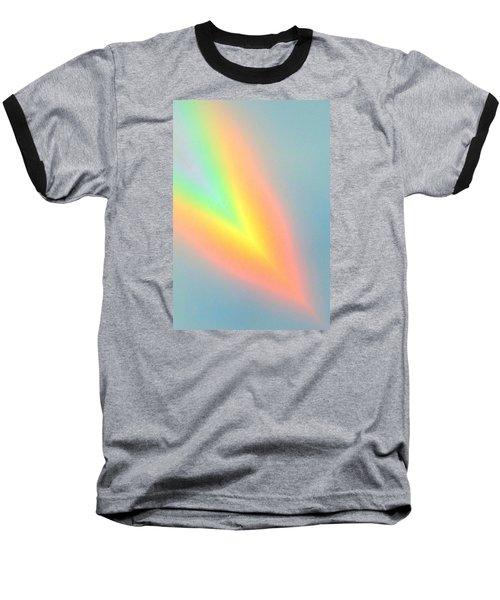 Arc Angle Two Baseball T-Shirt by Lanita Williams