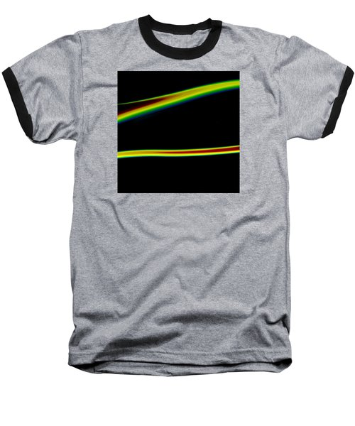 Baseball T-Shirt featuring the painting Arc C2014 by Paul Ashby