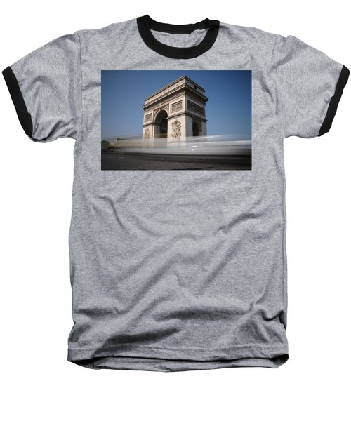 Arc De Triomphe Baseball T-Shirt by Jeremy Voisey