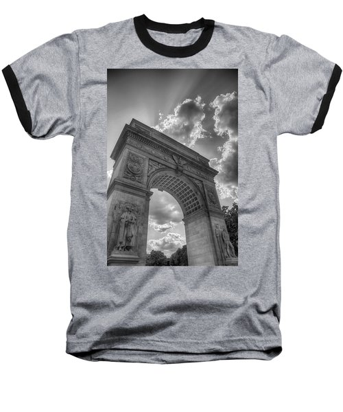 Arch At Washington Square Baseball T-Shirt