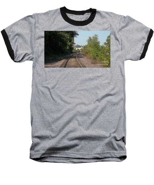Arch In The Distance Baseball T-Shirt by Kelly Awad