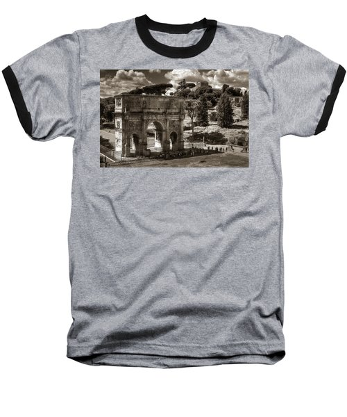 Arch Of Contantine Baseball T-Shirt