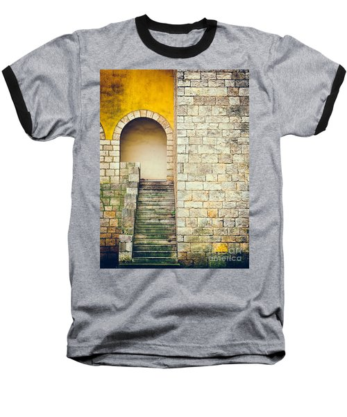 Baseball T-Shirt featuring the photograph Arched Entrance by Silvia Ganora