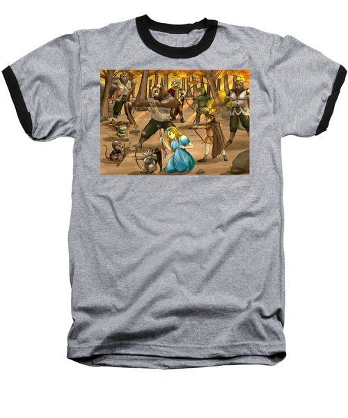 Archery In Oxboar Baseball T-Shirt by Reynold Jay