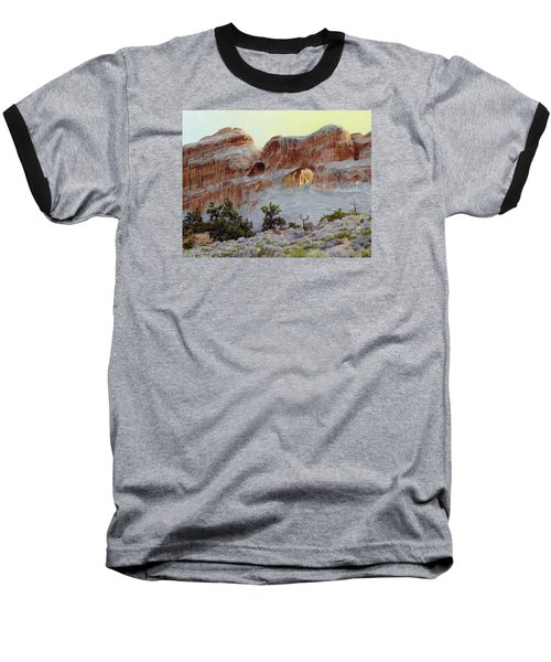 Arches Mulie Baseball T-Shirt by Bruce Morrison