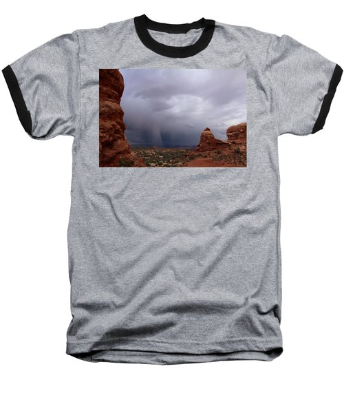 Arches National Monument Moab Baseball T-Shirt